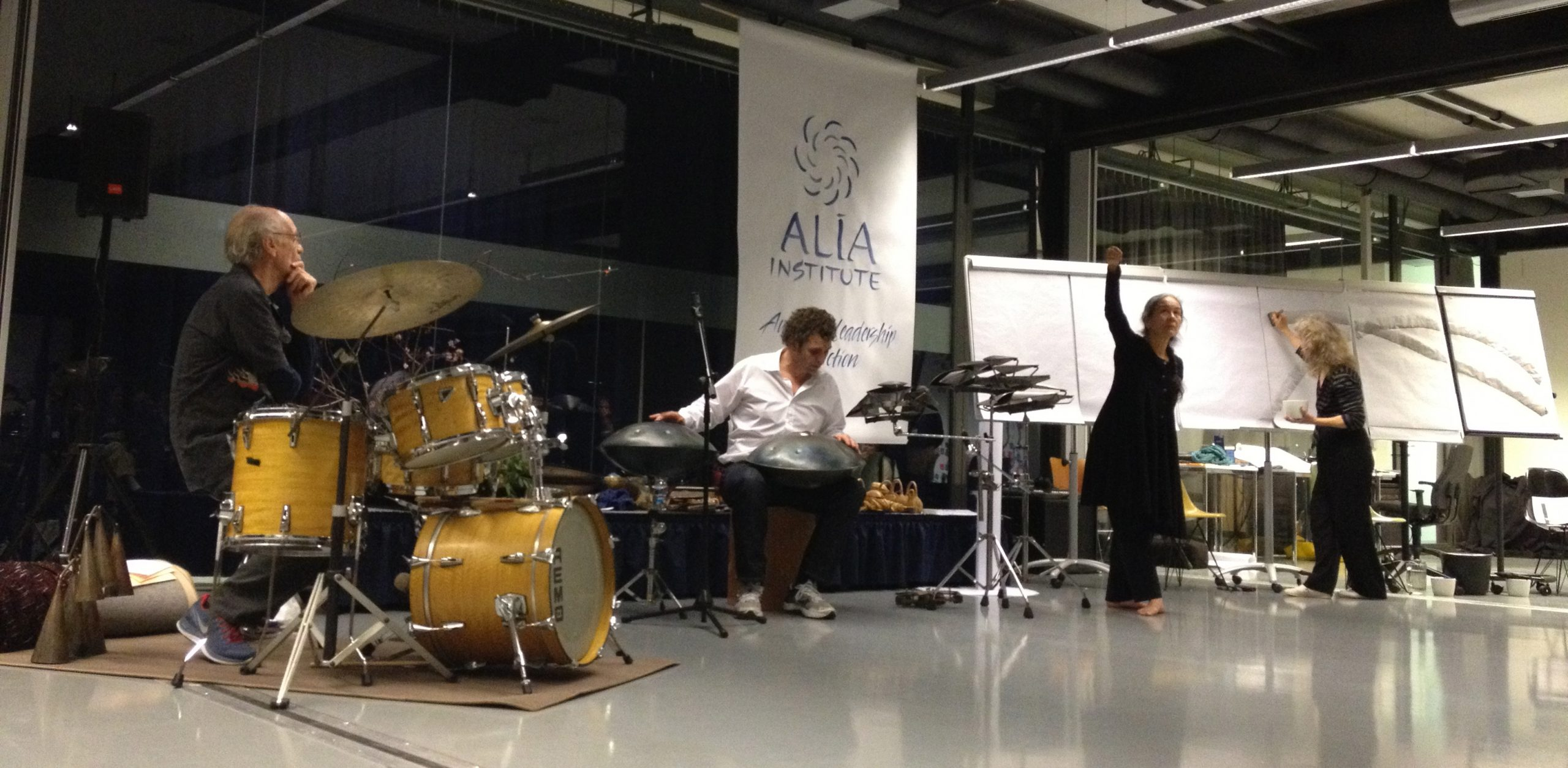 Wonderful Presencing track with Arawana at ALIA 2013