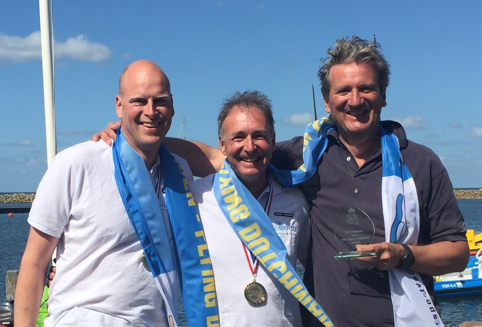 Open Dutch Champion Sailing Flying Dutchman