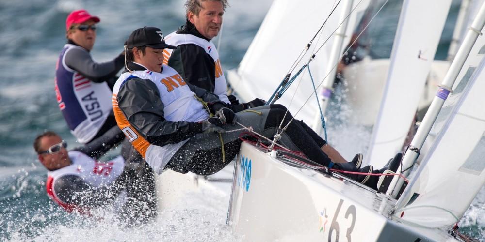 Bow n: 63, Skipper: Hein Dijksterhuis, Crew: Jim Dijksterhuis, Sail n: NED 8350