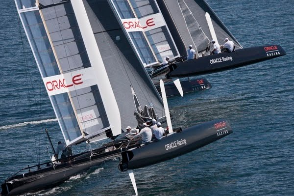 New way of sailing: AC 45