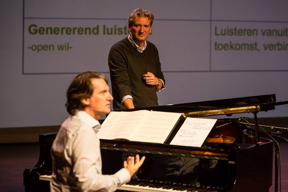 In dialogue with Bach and Marc van Roon