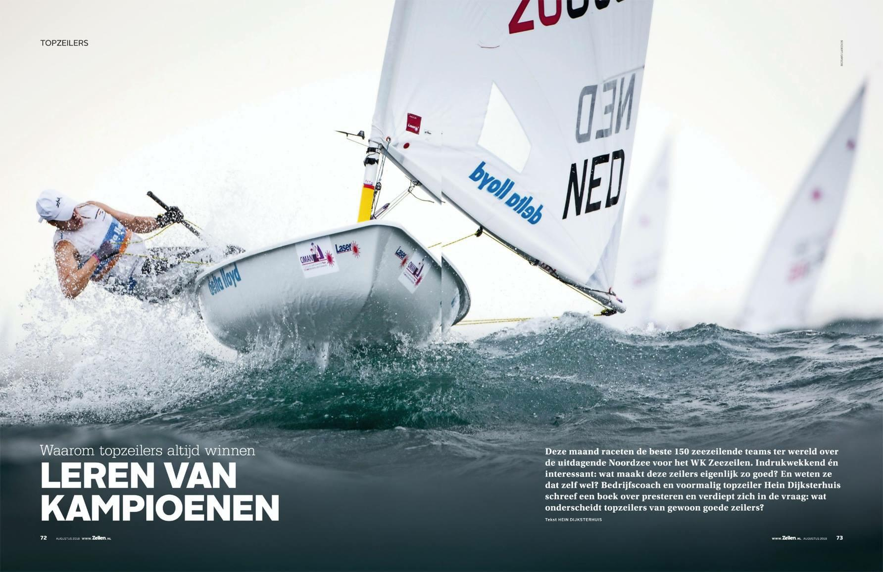 Learning from the Olympic Champions in Zeilen Magazine