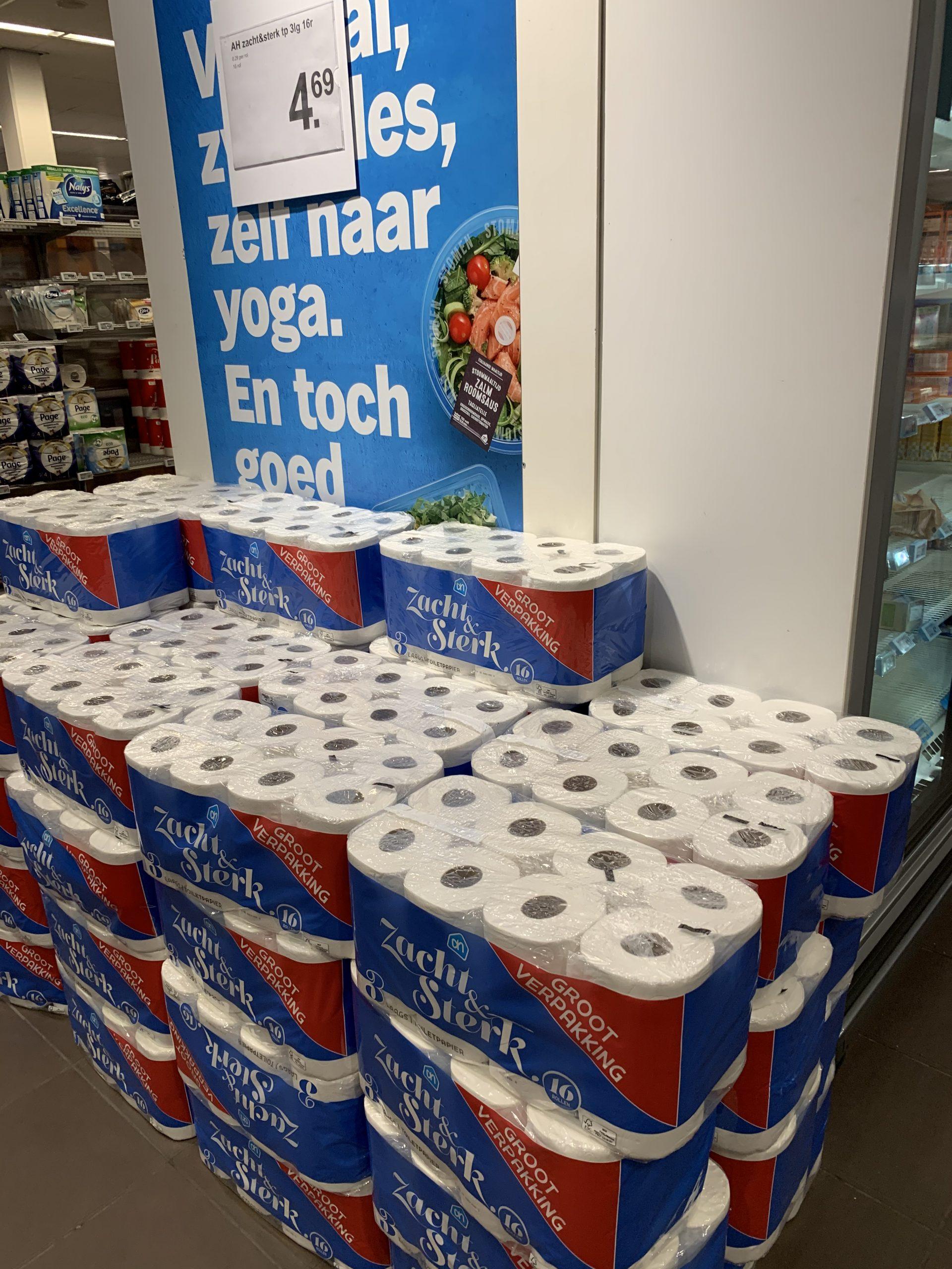 Hamsteren toiletpapier verklaard!