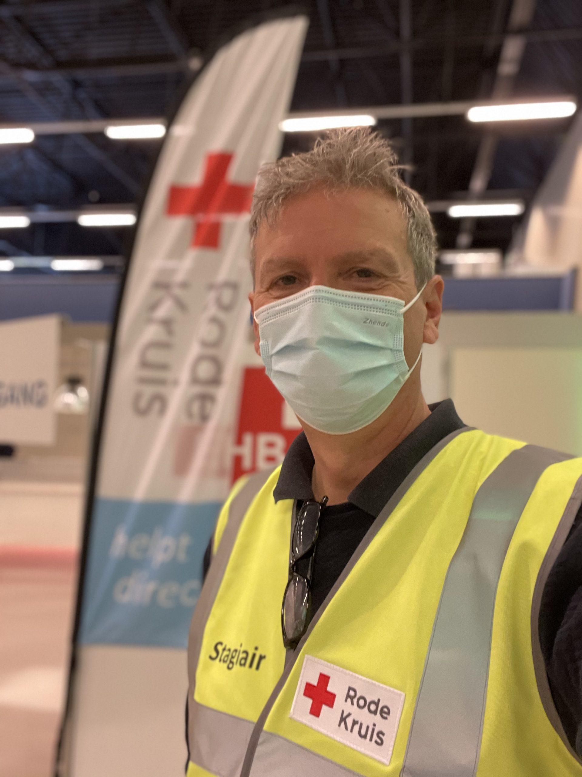 Red Cross Volunteer!